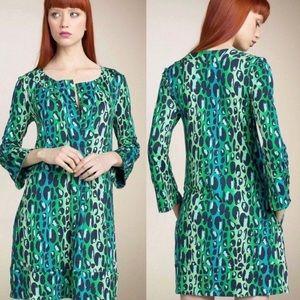 Diane Von Furstenberg Gaby Leopard Dress